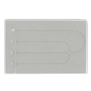 Small Quartz Droplet Chip (5µm etch depth), hydrophobic