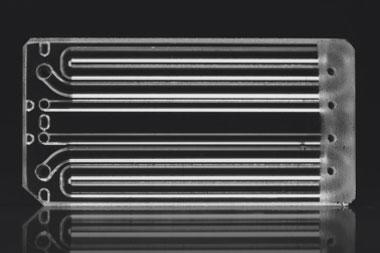 µEncapsulator Sample Reservoir Chip