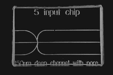 5 Input Chip 3D