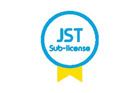 JST sub-license