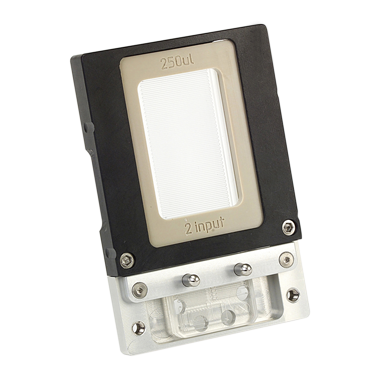 Quartz Microreactor Chip 250µl, 3 ports